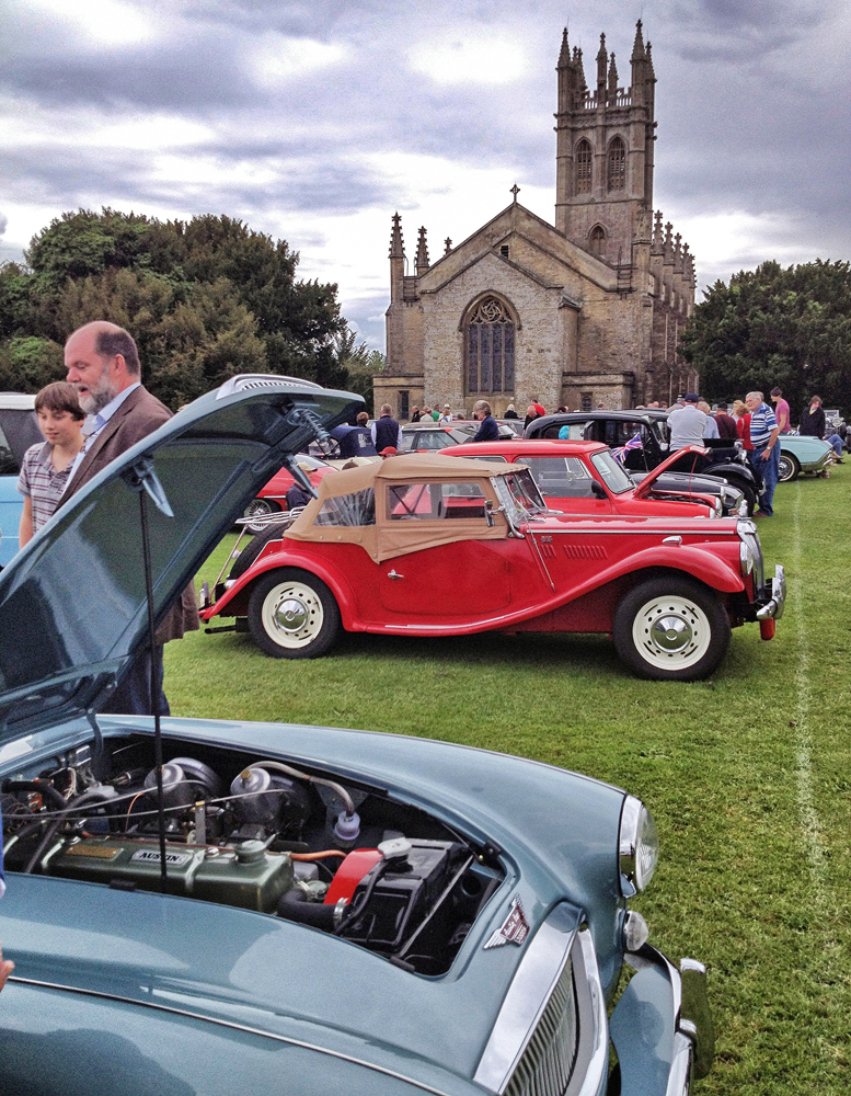 AUSTIN OF ENGLAND AT THE CHURCHILL VINTAGE AND CLASSIC CAR SHOW