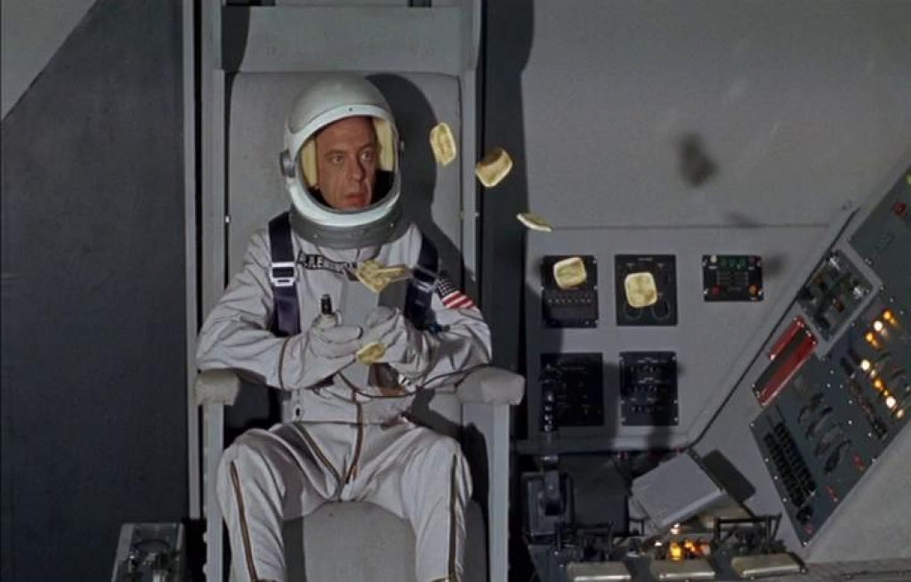 don knotts reluctant astronaut - photo #1