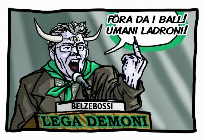 bossi belzebossi vs human vs demons