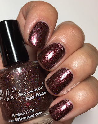 KBShimmer Birthstone Collection; Garnet