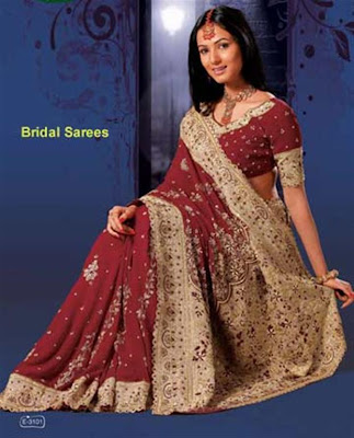 Bridal Saree Design
