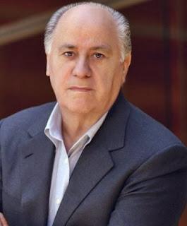 Amancio Ortega Orang terkaya ke 4 di dunia