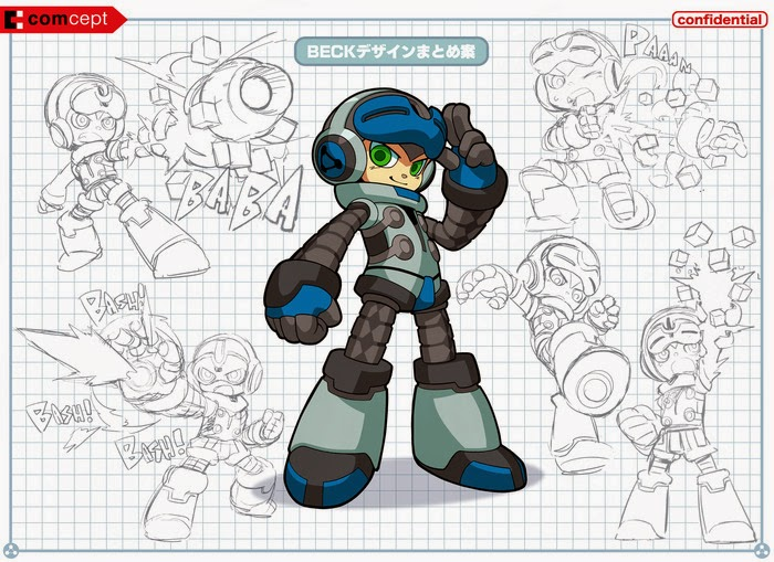 Mighty no. 9 Beck Drawing Board