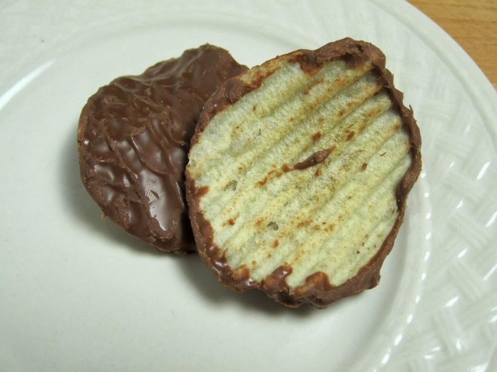 Review: Frito Lay's - Milk Chocolate-Dipped Wavy Lay's Potato ...