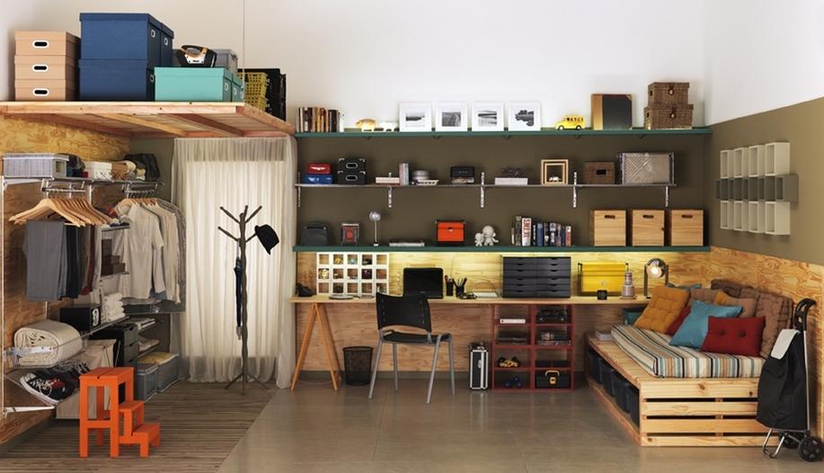 Decoração de quartos masculino solteiro – veja 40 modelos lindos + dicas!  D