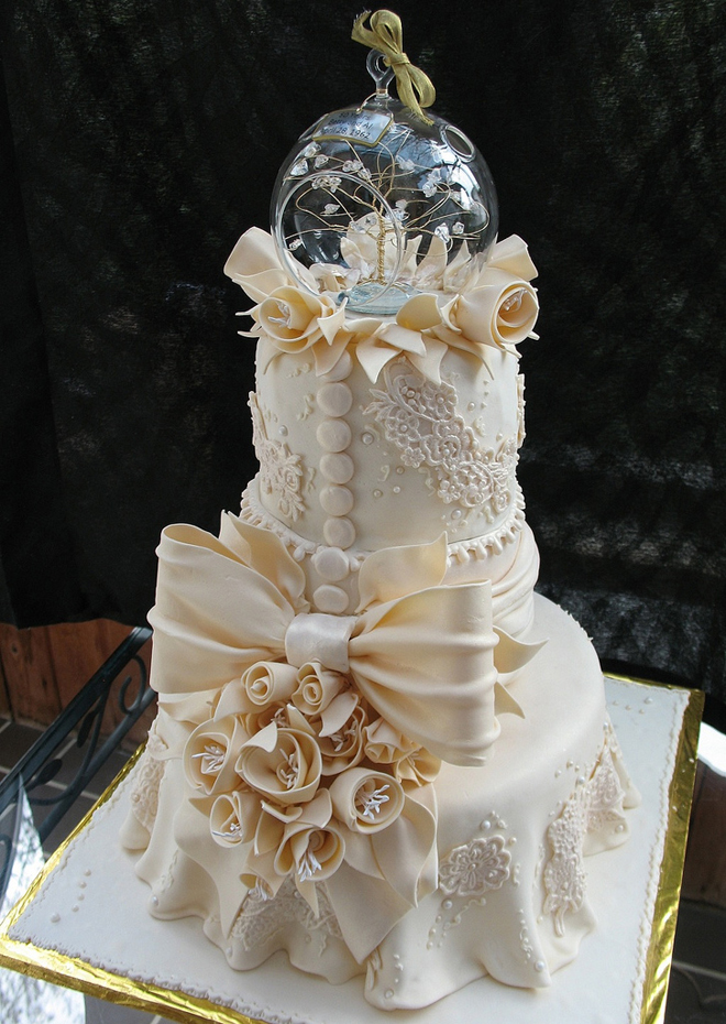 Lace Wedding Cakes - Part 6 - Belle The Magazine