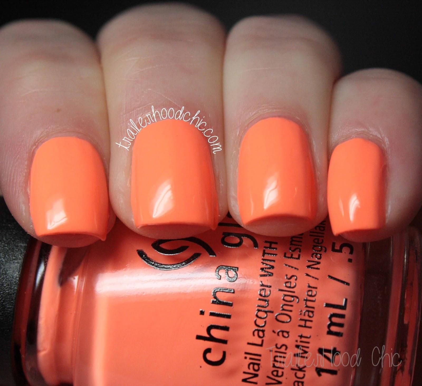 china glaze sunsational summer sun of a peach review swatch