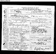 Abe Family Heritage Records: 0145Harmon Seefers Abe Death Certificate