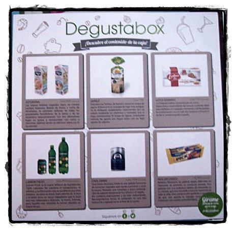 Tarjeta de Degustabox