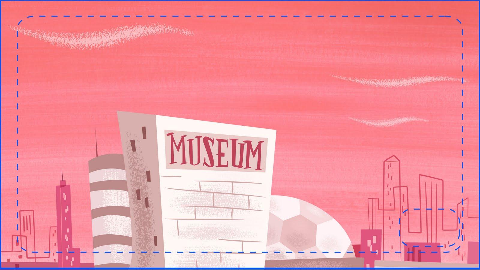Powerpuff Girls Bedroom Showing Post Media For Cartoon Museum Background Www