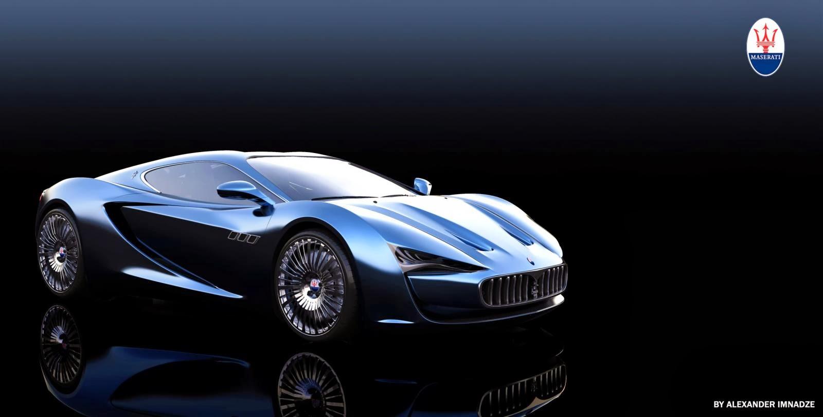 Maserati Bora Concept