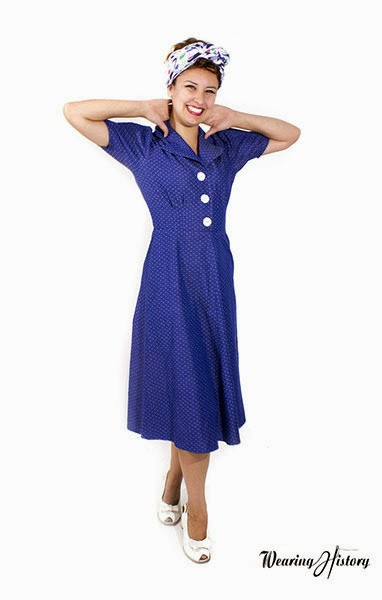 Wearing History of California Victoria Dress