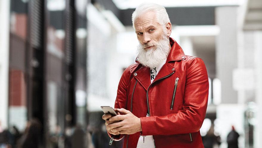 Oh, by the way Fashion Santa