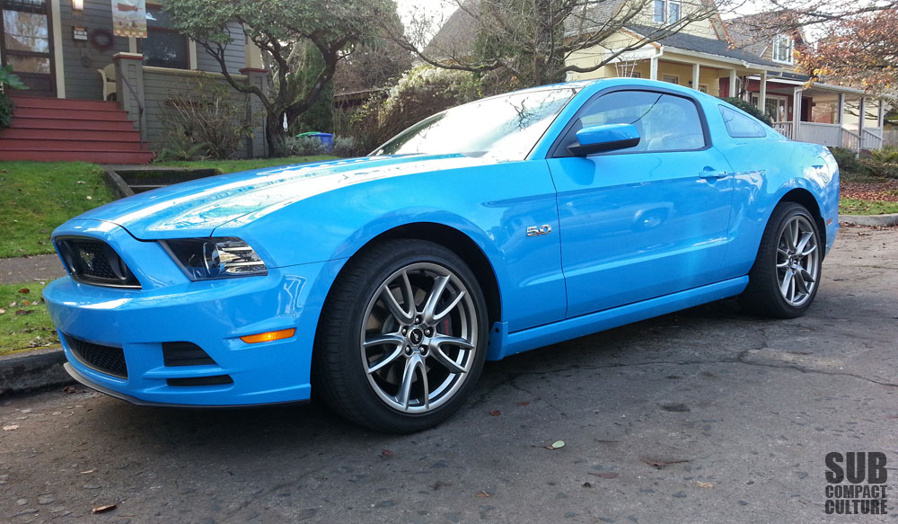 review 2013 ford mustang gt premium subcompact culture the small car blog. Black Bedroom Furniture Sets. Home Design Ideas