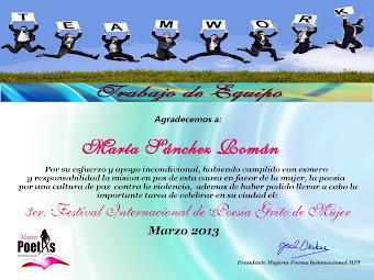 Grito de mujer, 2013