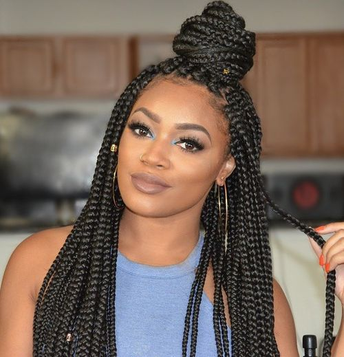 easy updos for black hair