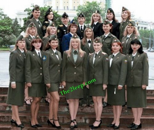 Hot Force Uniform Girls
