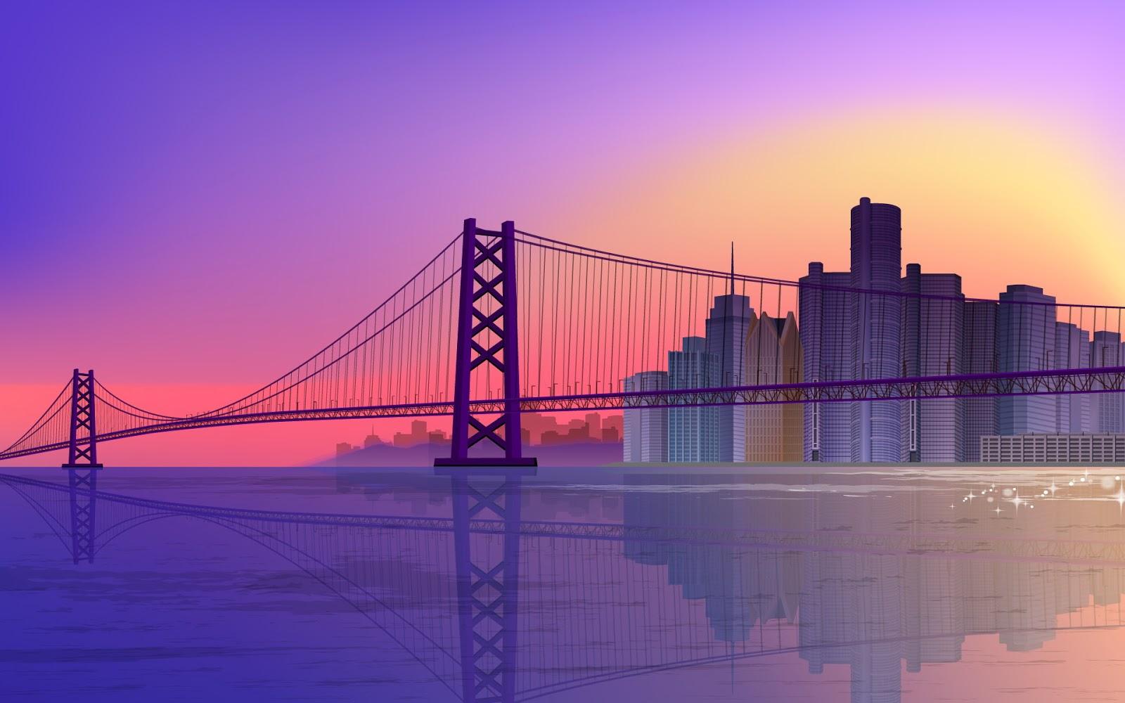 Bridges bridges architecture for Paesaggi autunnali per desktop