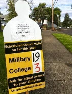 Demilitarize Our Schools!