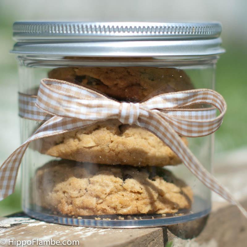 Hippo Flambé: Peanut Butter Oatmeal Chocolate Chunk Cookies