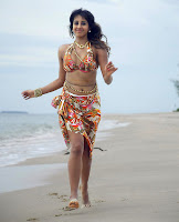 Sanjana, Hot, In, Beach