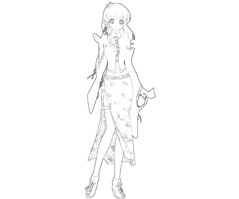 printable-sanae-kochiya-character-coloring-pages