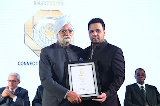 NRI Institute Hosted a Dinner for the celebration of PRIDE OF INDIA AWARDS