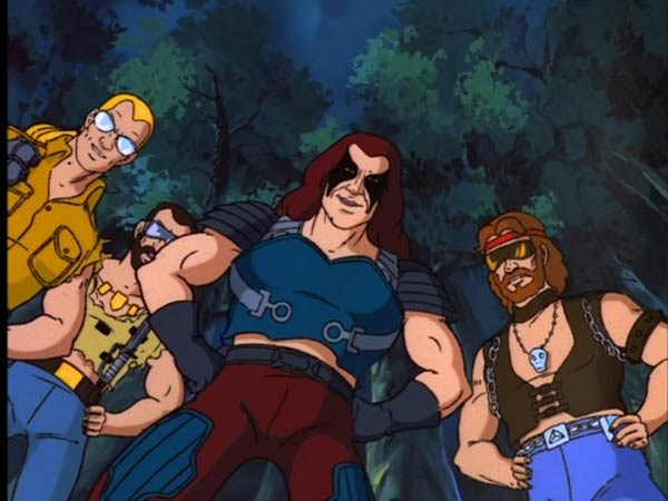 G I Joe Cartoon Characters : Screencaps from g i joe super bowl trailer more