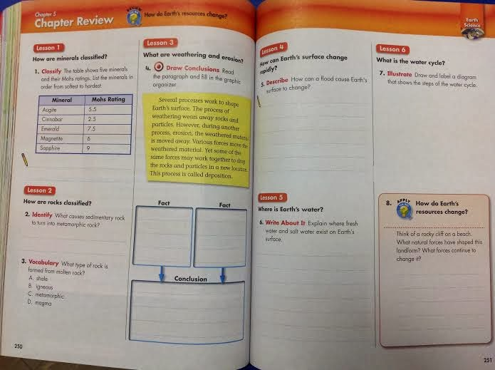 4th grade science textbook pdf