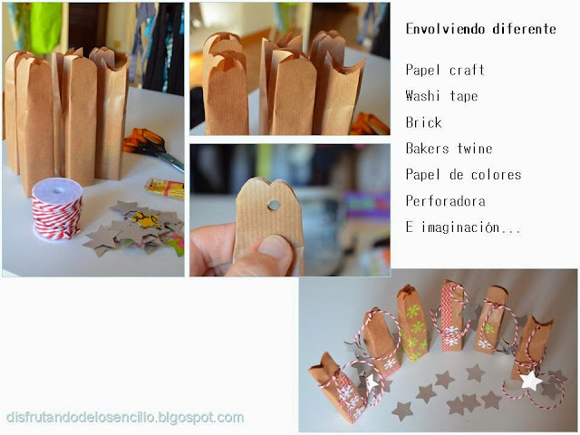 scrapbooking packaging envolver regalitos