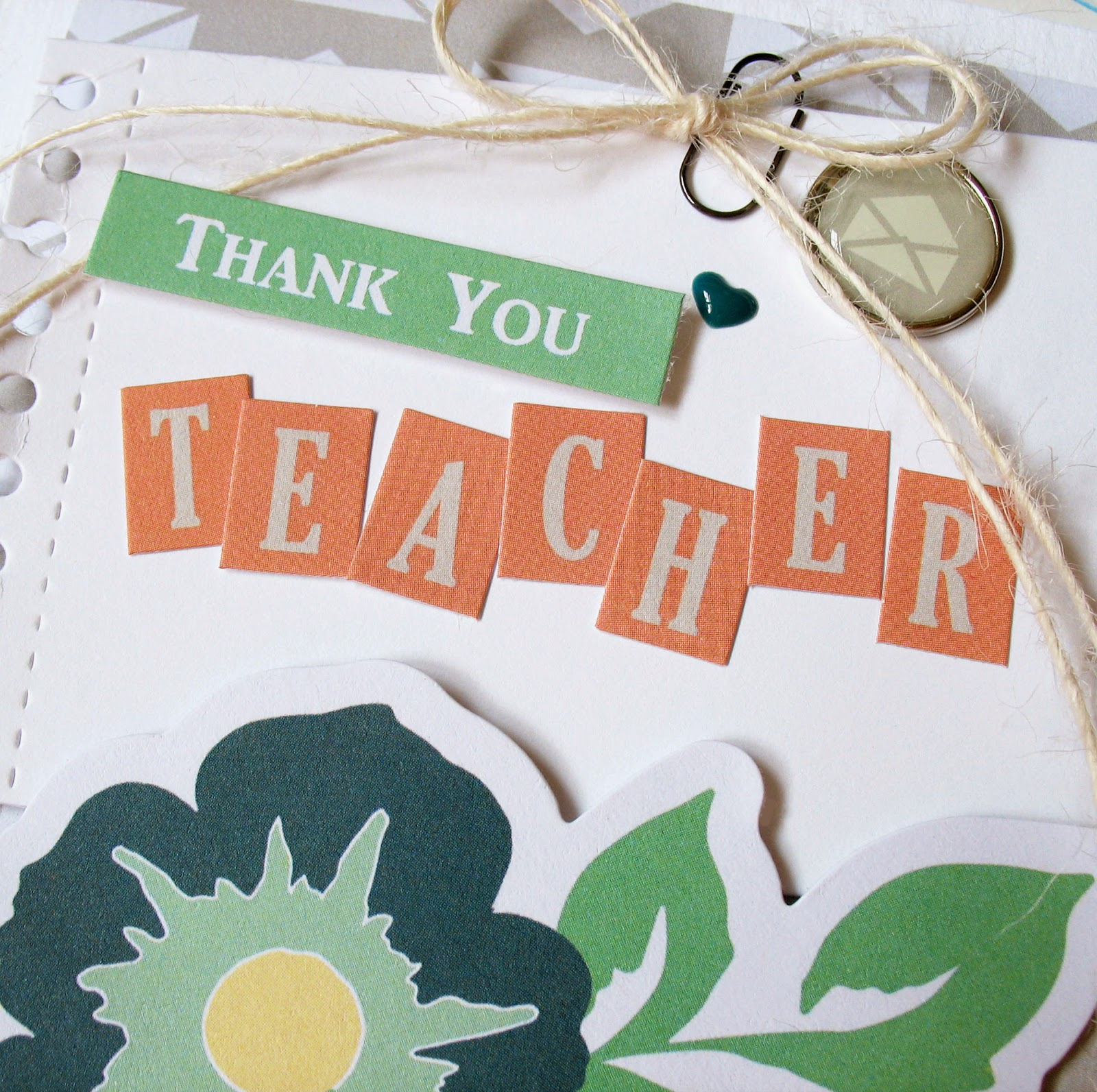 Kathy Martin Chickaniddy Crafts Back to School card close-up