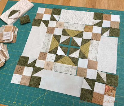 Allietare Bonnie Hunter Mystery Quilt 2015 - Part 3