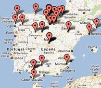 ¿Quieres localizar mis sitios recomentados en un mapa?