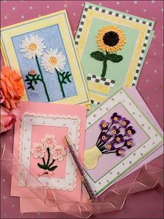 Вязаные открытки