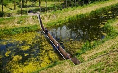 Jembatan tenggelam, Belanda