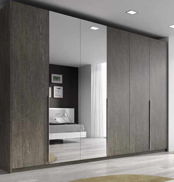 Puertas de armario con espejo ch decora puertas - Armario de bano con espejo y luz ...