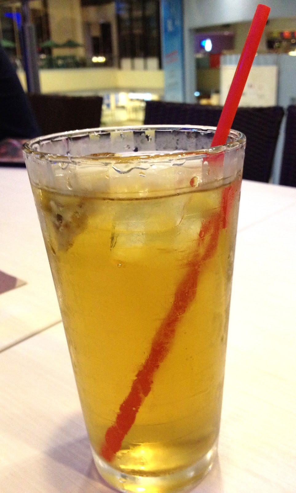 Served with an actual Chrysanthemum, it sure was a refreshing and ...