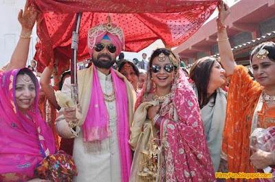 gul_panag_rishi_attari_bollywood_famous_wedding_FilmyFun.blogspot.com