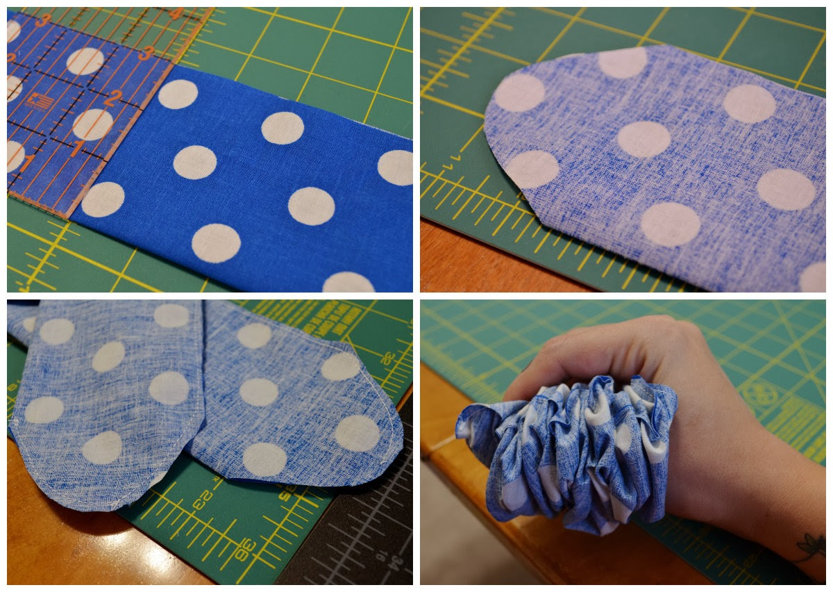 diy rockabilly wire headband, diy wire headband, diy headband tutorial, no sew headband tutorial, rockabilly tutorial, diy rockabilly, polka dot headband, handmade wire headband