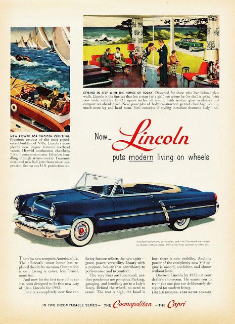 リンカーンカプリ初代 Lincoln Capri(1952-55)