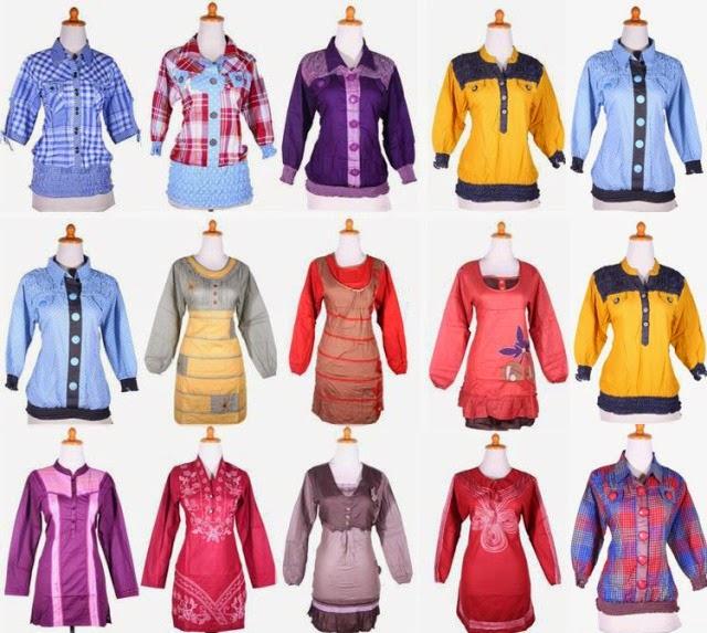 Koleksi Baju Wanita Tanah Abang Terbaru 2015