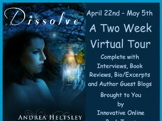 Tour/Promo: Dissolve by Andrea Heltsley