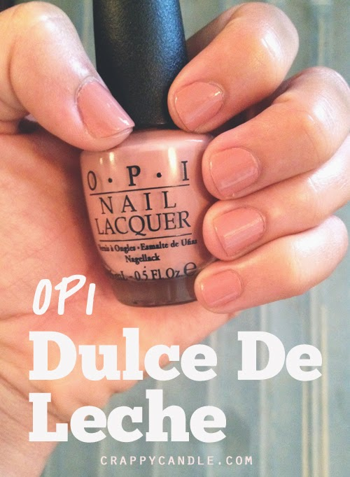 OPI Dulce De Leche Indoor Light | Crappy Candle
