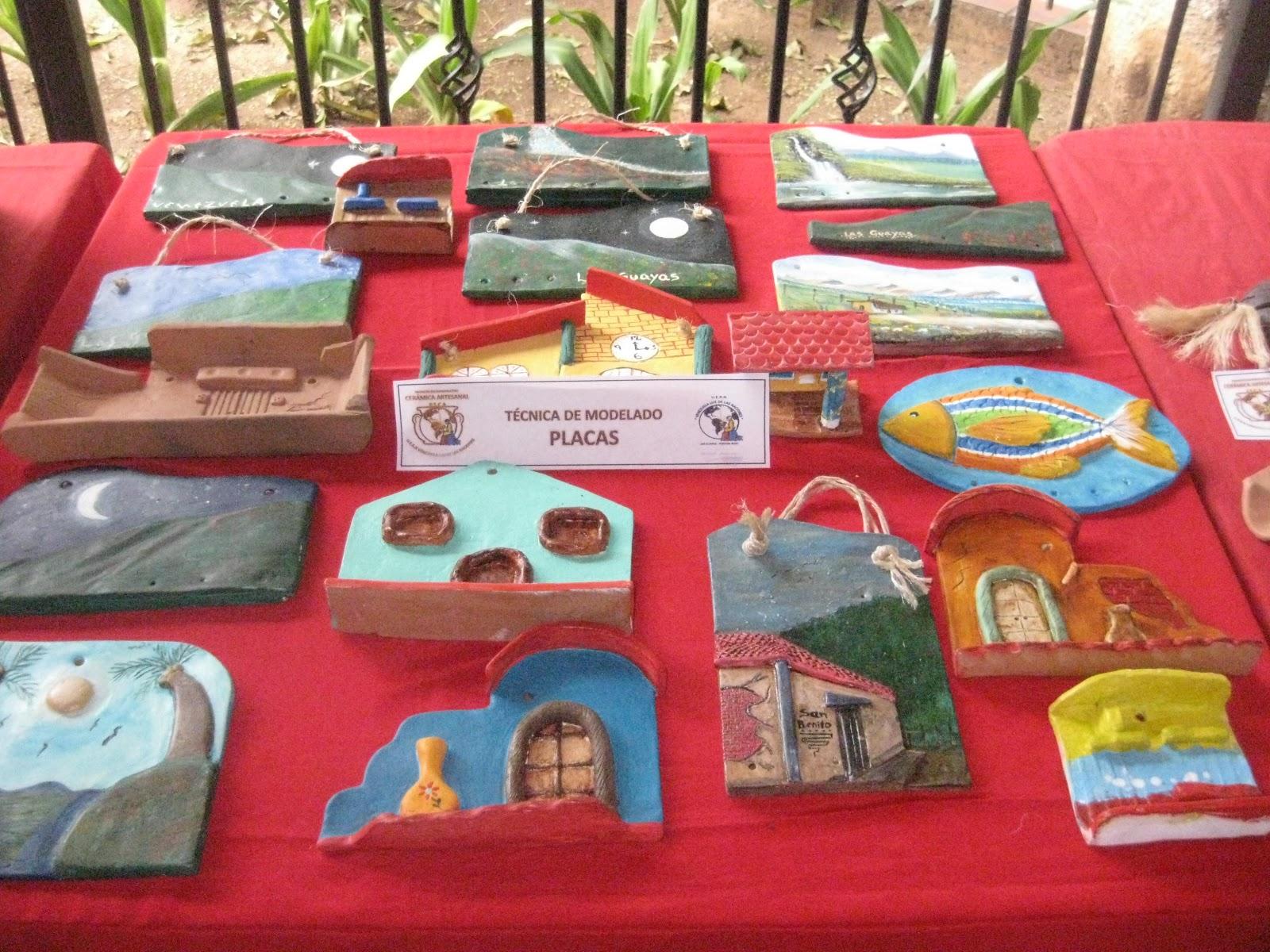 U e r n venezuela luz de las naciones primera for Herramientas ceramica artesanal