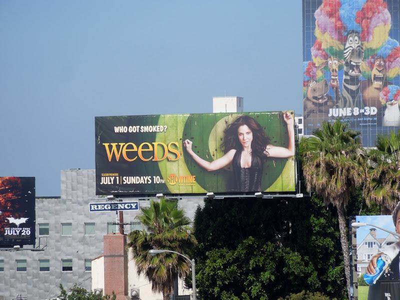 Weeds season 8 TV billboard