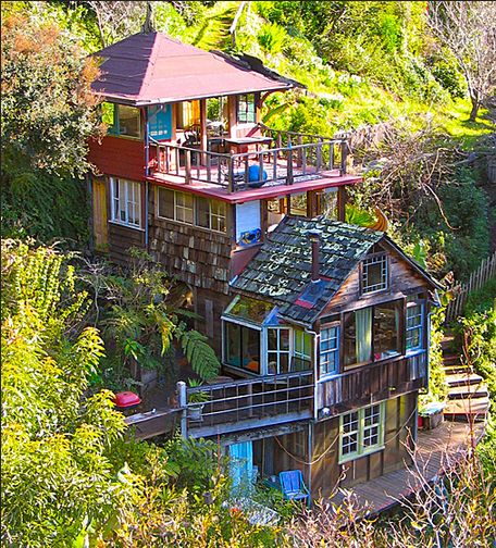 Travel to big sur happy happy nester - Large summer houses energizing retreat ...