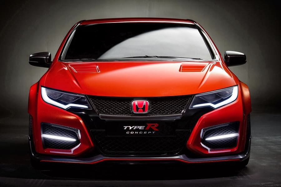 honda civic type r concept revealed autoesque. Black Bedroom Furniture Sets. Home Design Ideas