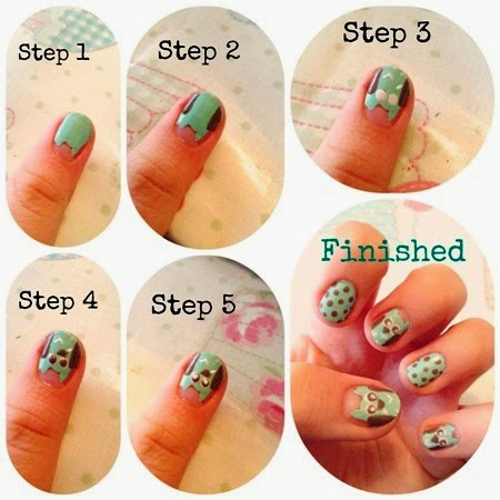 Cool Nail Designs Tutorials Easy Nail Design Tutorials