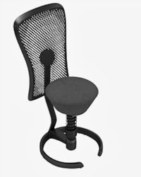 Via Seating Swopper Chair with Back Support