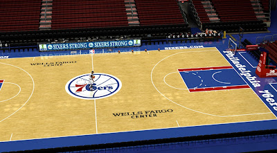 Updated Sixers Court, Stadium, Dornas, Backboard, Arena